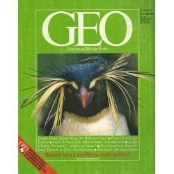 Geo Nr. 8 / August 1986 - Gough Island