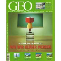 Geo Nr. 10 / Oktober 2004 - Wie wir Klüger werden