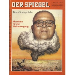 Der Spiegel Nr.15 / 3 April 1967 - Atom Stratege Kahn