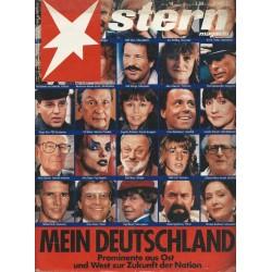 stern Heft Nr.14 / 29 März 1990 - Mein Deutschland
