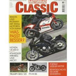 Motorrad Classic 6/99 - Nov./Dez. 1999 - Was passt besser?