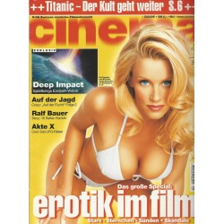 CINEMA 5/98 Mai 1998 - Erotik im Film