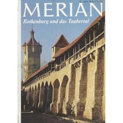MERIAN Rothenburg und das Taubertal 6/31 Juni 1978