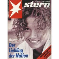 stern Heft Nr.32 / 5 August 1993 - Der Liebling der Nation