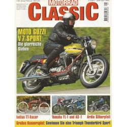 Motorrad Classic 1/98 - Jan/Feb 1998 - Moto Guzzi V7 Sport