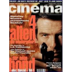 CINEMA 12/97 Dezember 1997 - Der neue Bond