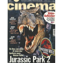 CINEMA 8/97 August 1997 - Jurassic Park 2