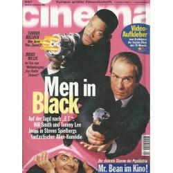 CINEMA 9/97 September 1997 - Men in Black
