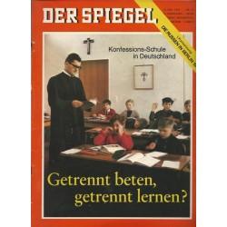 Der Spiegel Nr.20 / 12 Mai 1965 - Konfessions Schule / Deutschland