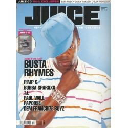 JUICE Nr.85 Mai / 2006 & CD 63 - Busta Rhymes