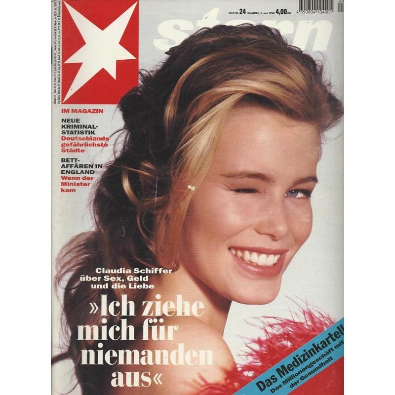 stern Heft Nr.24 / 9 Juni 1994 - Ich ziehe mich für niemanden aus