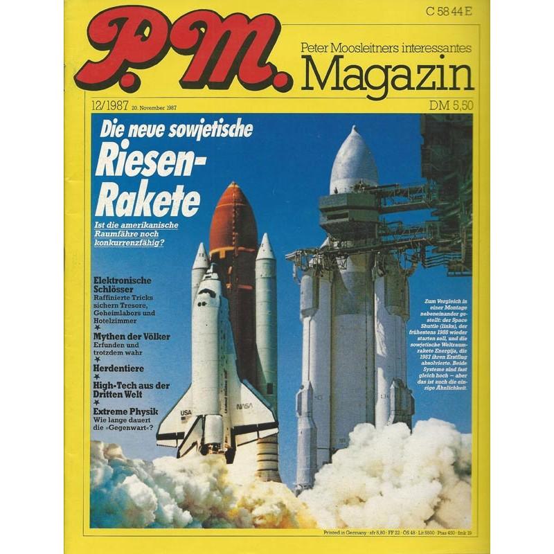 P.M. Ausgabe Dezember 12/1987 - Riesen Rakete