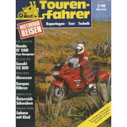 Tourenfahrer Mai/Juni Ausgabe 3/1990 - Honda ST 1100