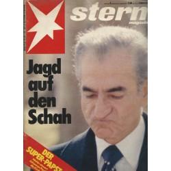 stern Heft Nr.5 / 25 Januar 1979 - Jagd auf den Schah