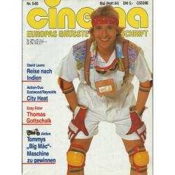 CINEMA 5/85 Mai 1985 - Thomas Gottschalk