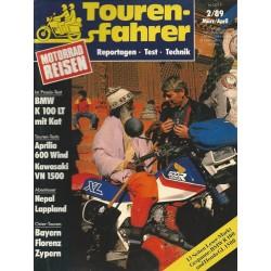 Tourenfahrer März/April Ausgabe 2/1989 - Nepal