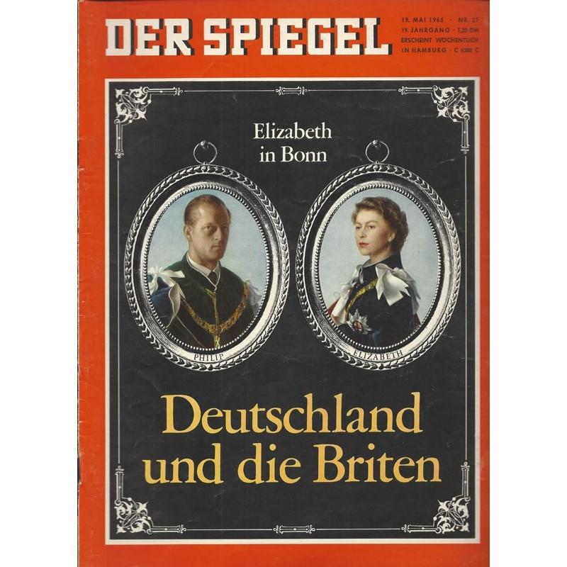 Der Spiegel Nr.21 / 19 Mai 1965 - Deutschland und die Briten