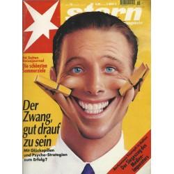 stern Heft Nr.15 / 7 April 1994 - Der Zwang gut drauf zu sein