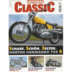 Motorrad Classic 3/00- Mai/Juni 2000 - Norton Commando 750 S
