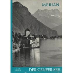 MERIAN Der Genfer See 1/XVI Januar 1963
