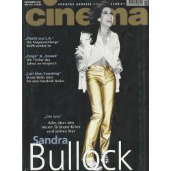 CINEMA 11/96 November 1996 - Sandra Bullock