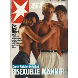 stern Heft Nr.30 / 16 Juli 1987 - Bisexuelle Männer