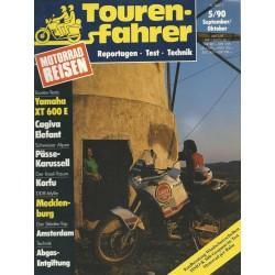 Tourenfahrer September/Oktober Ausgabe 5/1990