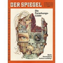 Der Spiegel Nr.9 / 24 Februar 1969 - Die Forschungslücke