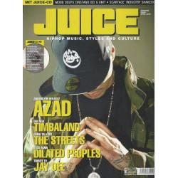 JUICE Nr.84 April / 2006 & CD 62 - AZAD Zahltag für den Bozz