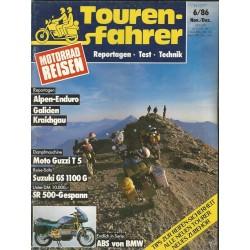 Tourenfahrer November/Dezember Ausgabe 6/1986