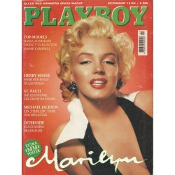Playboy Nr.12 / Dezember 1994 - Marilyn Monroe