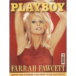 Playboy Nr.2 / Februar 1996 - Farrah Fawcett