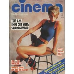 CINEMA 11/85 November 1985 - Jamie Lee Curtis