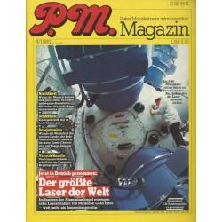 P.M. Ausgabe August 8/1985 - Der größte Laser der Welt
