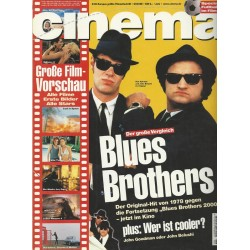 CINEMA 6/98 Juni 1998 - Blues Brothers