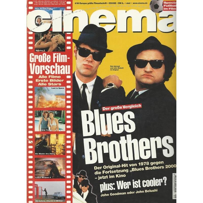 CINEMA 6/98 Juni 1998 - Blues Brothers
