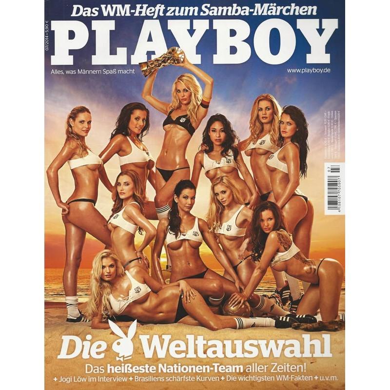 Playboy Nr.7 / Juli 2014 - Die Playboy Weltauswahl