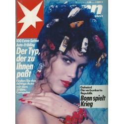 stern Heft Nr.11 / 5 März 1987 - Der Typ, der zu ihnen paßt