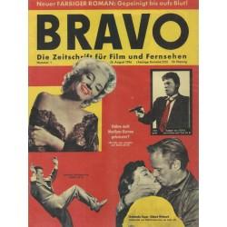 BRAVO Nr.1 / 26 August 1956 - Erstausgabe (REPRINT)