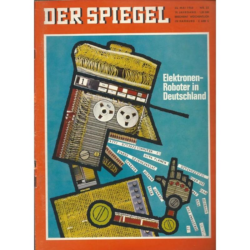Der Spiegel Nr.22 / 26 Mai 1965 - Elektronen Roboter in Deutschland