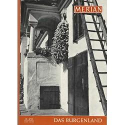 MERIAN Das Burgenland 10/XVI Oktober 1963