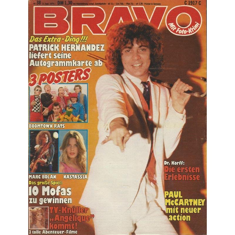 BRAVO Nr.38 / 13 September 1979 - Patrick Hernandez