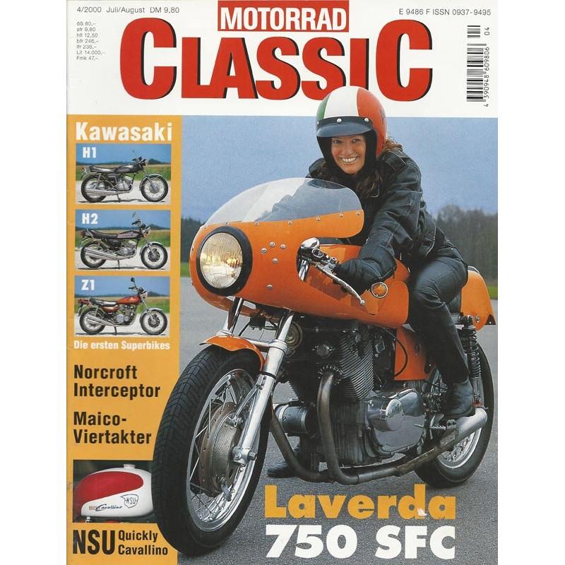 Motorrad Classic 4/00- Juli/August 2000 - Laverda 750 SFC