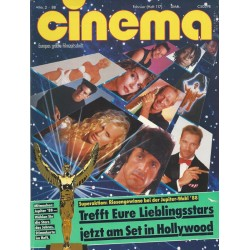CINEMA 2/88 Februar 1988 - Jupiter Wahl 88
