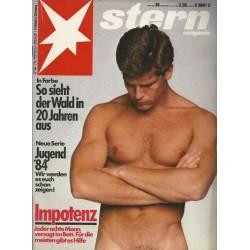 stern Heft Nr.28 / 5 Juli 1984 - Impotenz