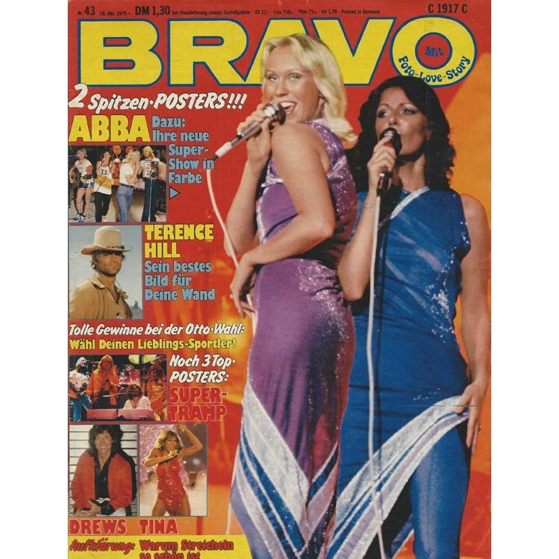 BRAVO Nr.43 / 18 Oktober 1979 - ABBA