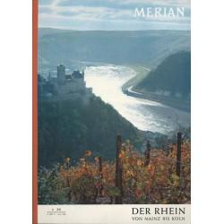 MERIAN Der Rhein von Mainz bis Köln 6/XX Juni 1967