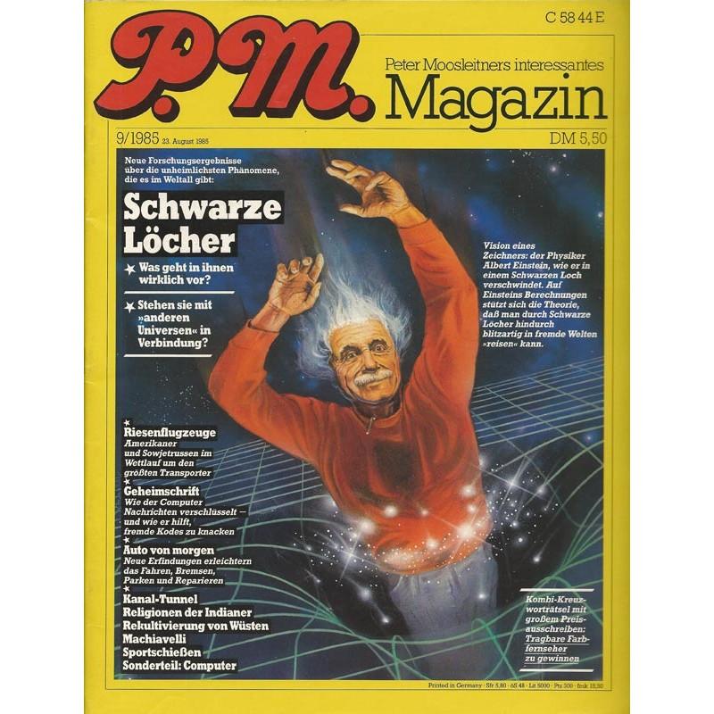 P.M. Ausgabe September 9/1985 - Schwarze Löcher