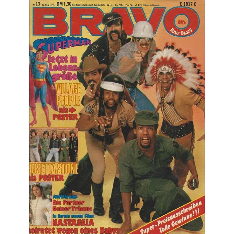 BRAVO Nr.13 / 22 März 1979 - Village Peoble als Poster