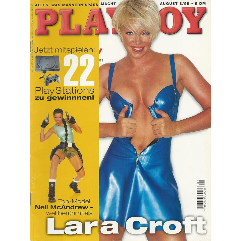 Playboy Nr.8 / August 1999 - Nell McAndrew